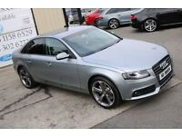 LATE 2010 AUDI A4 2.0TDI SE 141BHP 4DR SALOON ** BLACK EDITION SPEC**( FINANCE & WARRANTY AVAILABLE)