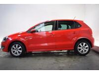 VOLKSWAGEN POLO 1.2 MATCH EDITION 5d 59 BHP (red) 2013