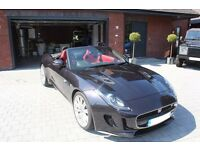Jaguar F-TYPE 2016 Convertible 3.0 Supercharged V6 S 2dr Auto AWD Convertible