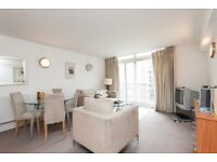 VACANT CHEAP FURNISHED 1 BED IN CANARY WHARF WITH SEPARATE KITCHEN GYM POOL E14 MB