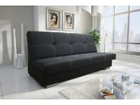 NEW SOFA BED WITH STORAGE AND BONELL SPRINGS POLSKIE WERSALKI SETTEE COUCH HIGH QUALITY WELL MADE
