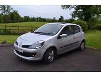 Renault Clio 2007 Diesel - Taxed and MOT until June 2018