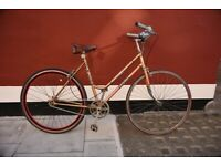 Vintage custom build (single speed) Falcon bicycle, 20 inch frame.
