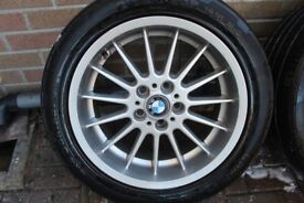 "BMW E38 E39 18"" 8J ET20 STYLE 32 RADIAL FRONT ALLOY WHEEL 36111091990 DEEP DISH"