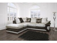 crushed velvet dino corner sofas, also available as a 3+2 set