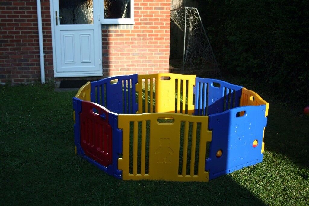 Large Baby Playpen - 8 Panels