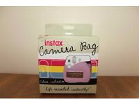 FUJIFILM Instax Mini8 Camera Case - Pink and Blue