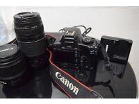 Canon 1000D Bundle - Canon lenses 18-55mm & 75-300mm