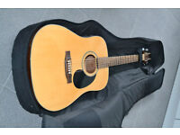 Crafter acoustic electric guitar