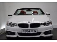 BMW 4 SERIES 2.0 420D M SPORT [19 (white) 2014