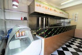 Restaurant and 2 bedrooms Flat on top on Green Road--West Green--Viewing STRICTLY by appointment