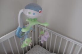 Fisher Price Butterfly Dreams 3-in-1 Projection Cot Mobile