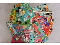 Le Journal de Mickey Magazines, Journals, collectible comics in French