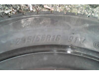 1 205/55 R 16 91V tyre on a ford mondeo steel wheel, 8 mm + tread