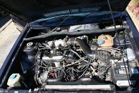 1990 VW Mk1 Golf GTI Cabriolet Karmann Edition Blue 1.8 Injection