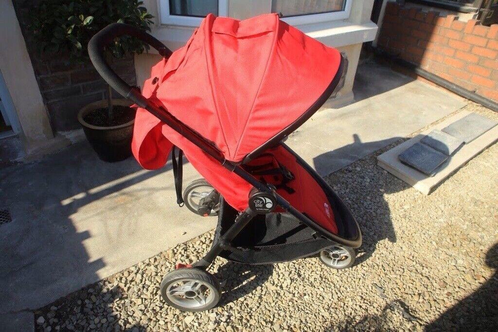 Baby Jogger City Lite Stroller Red In Fishponds Bristol Gumtree
