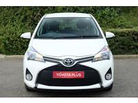 Toyota Yaris VVT-I ICON (white) 2015-01-31