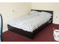 IKEA Double Bed frame and Mattress + extras