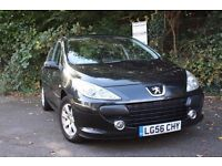 *** 2006 Peugeot 307 1.6i - Only 66,000 Miles - 1 Lady Owner - Full Peugeot Dealer Servicing ***