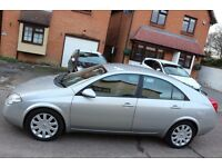 2002 Nissan PRIMERA 1.8 PETROL AUTOMATIC GEARBOX