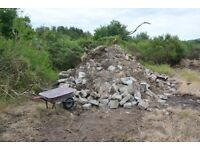 Free Rubble (Infill) for Garage - Foundation - Shed Base Etc Approx 5 Ton's Free