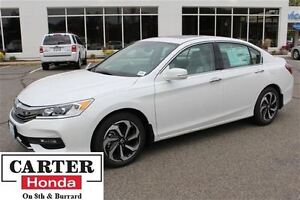 2016 Honda Accord EX-L V6 + Certified 6yrs/120,00kms  + low rate