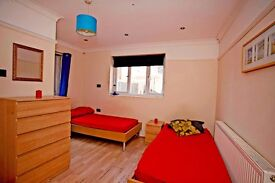 Nice room next to Leyton Underground, to share with friend or couple. £115 pp/pw
