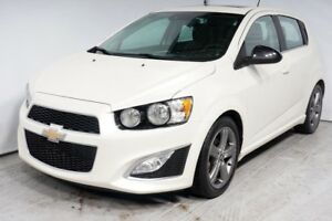 2015 CHEVROLET SONIC RS TURBO CUIR TOIT CAMERA