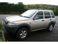 Land Rover FREELANDER 4x4 SUV 2.0, TD4, 5 DOOR, DIESEL, automatic - spares/repairs nr Swansea Valley