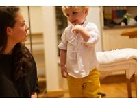 Hiring polite, engaging babysitters & nannies to Oscar & Owl. £8+/hr. Flexible work