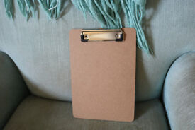 2 A5 Clip boards, used at wedding, perfect for kids