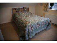 Stunning patchwork Eiderdown Duvet Cover Kingsize