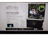 affinity rectangle out door pool(All in one) brand new