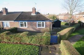 2 bed semi detatched bungalow