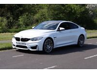 2016 66 BMW M4 3.0 M4 COMPETITION PACKAGE 2D SEMI-AUTO 444 BHP FSH LOW MILEAGE
