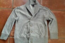 6 yrs Next Boy's Grey cardigan