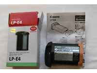 Canon LP-E4 Battery For Canon EOS 1Ds Mark III 1D3 Mark IV