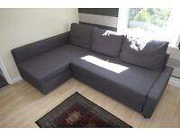 corner sofa bed (ikea friheten)