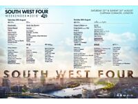 SW4 2x South West Four Weekend Tickets (Sat+Sun)