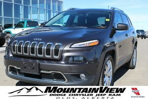 2016 Jeep Cherokee Limited FWD, NAV! TOW GROUP!