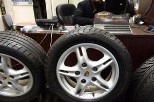 "Porsche Wheels 16"" OEM"