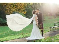 Stunning Nicole Anne Indulgence Designer Wedding Dress Size 10 (fits size 6-10)