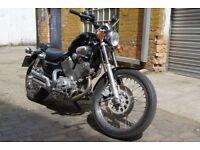 Yamaha XV535 Virago With Just 12000 on it. Beautiful Bike