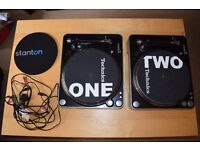 Stanton T.62 Direct Drive Turntables (Pair)