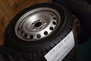 215/60/R16 Winter Tire Package ( 5x114.3 ) ( * JANEX AUTO * )