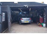 Garage / Workshop at Church Farm Ardeley to Let
