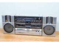 Sharp GF-990G radio tape recorder, ghetto blaster - super rare collectable make me offer