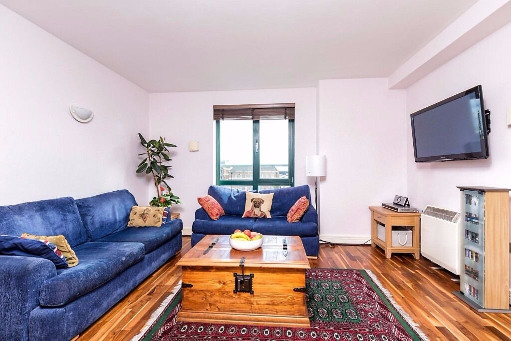 Modern Ious Furnished Central London 3 Bed 2 Bath Flat Balcony Available Now