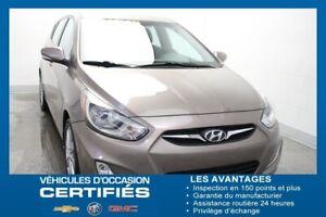 2012 Hyundai Accent 5-dr GLS+TOIT+AIR CLIM+GP.ELEC