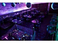 Waitress/Hostess FOR BUSY LATE NIGHT DJ BAR. FULL & PART TIME POSITIONS